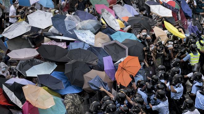 Declarados culpables los impulsores de la 'Revolución de los Paraguas' de Hong Kong