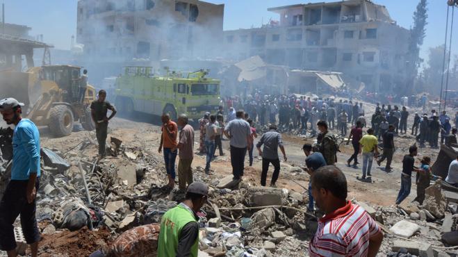 El atentado de Daesh en el noreste de Siria deja ya casi 50 muertos
