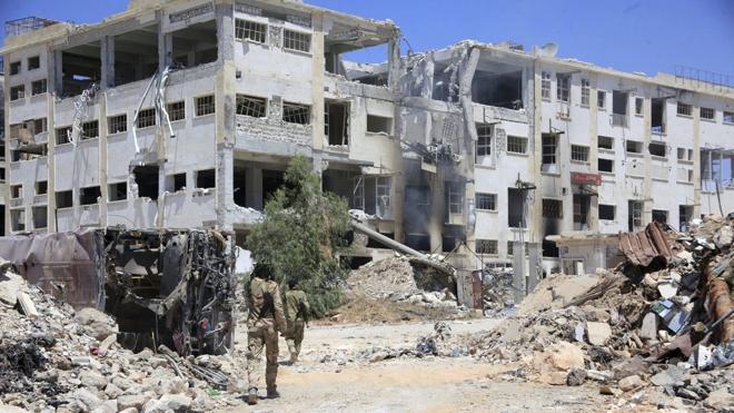 Los rebeldes sirios impiden a los civiles salir de Alepo