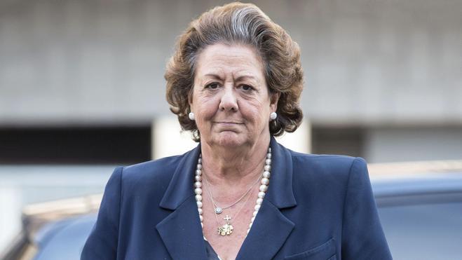 La Fiscalía pide al Supremo que abra causa contra Rita Barberá por blanqueo