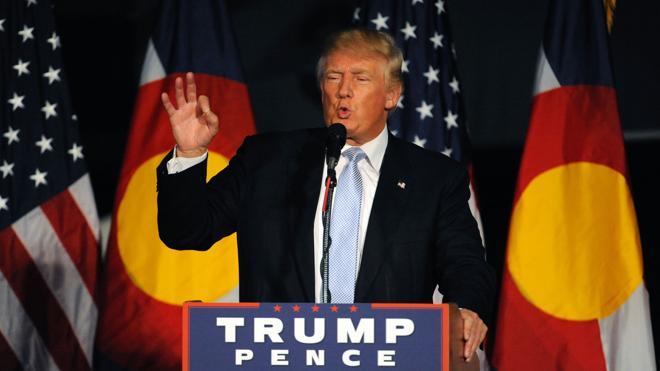 Trump: «Yo trabajo muy, muy duro. He creado miles y miles de empleos»