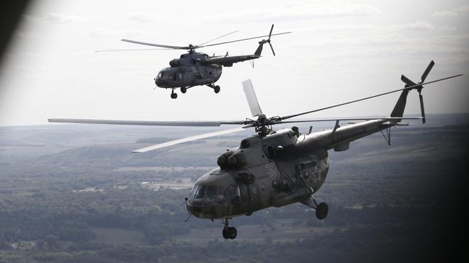 Mueren cinco soldados rusos tras ser derribado su helicóptero en Siria