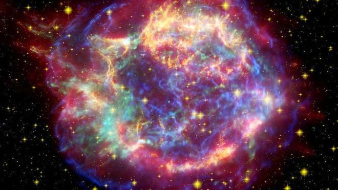 Científicos simulan los núcleos más pesados producidos por una supernova