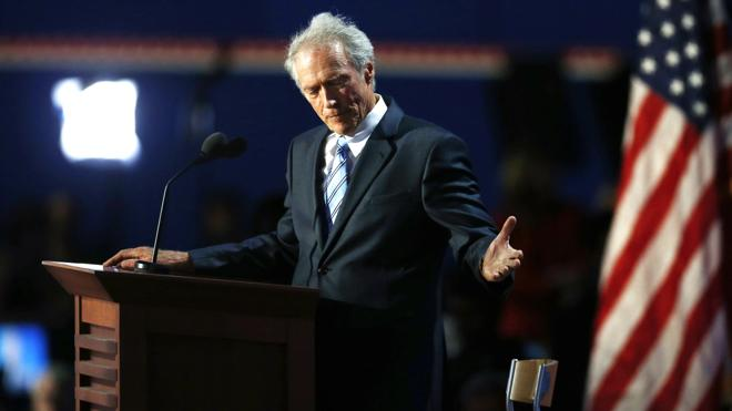 Clint Eastwood elige a Donald Trump