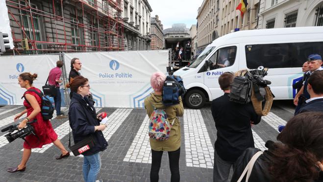 El Estado Islámico reivindica el ataque con machete contra dos policías en Bélgica
