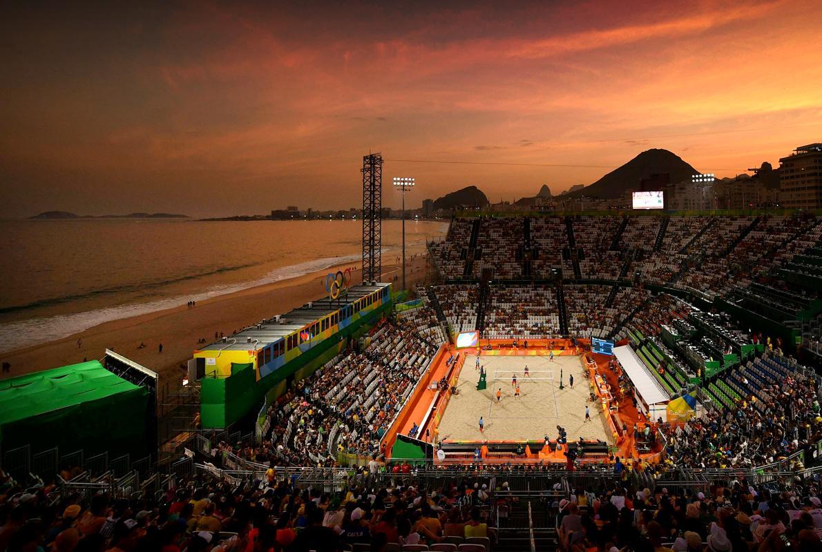La fiesta de cada día en Copacabana