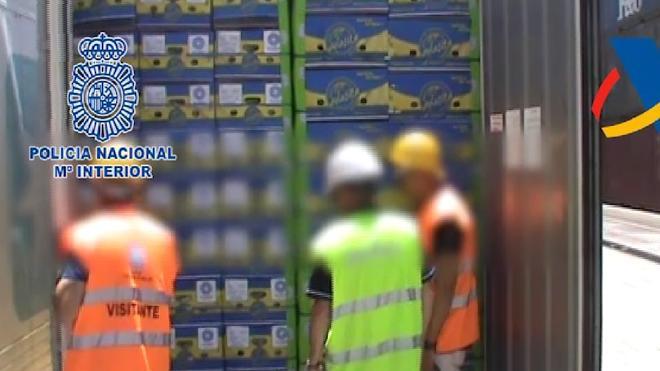 Arrestados dos trabajadores del Puerto de Algeciras tras introducir 350 kilos de cocaína