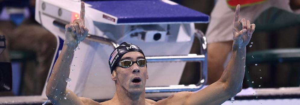 Phelps cuenta 25