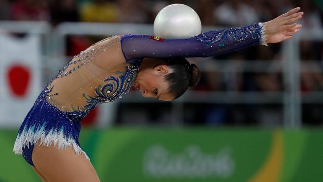 Carolina Rodríguez se despide con un diploma olímpico