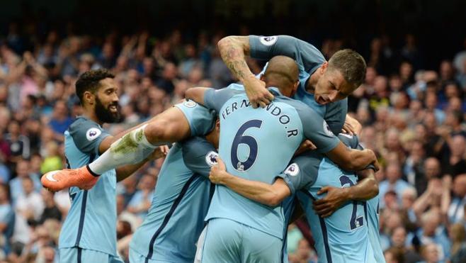 El City gana al West Ham y se une al United y al Chelsea en cabeza