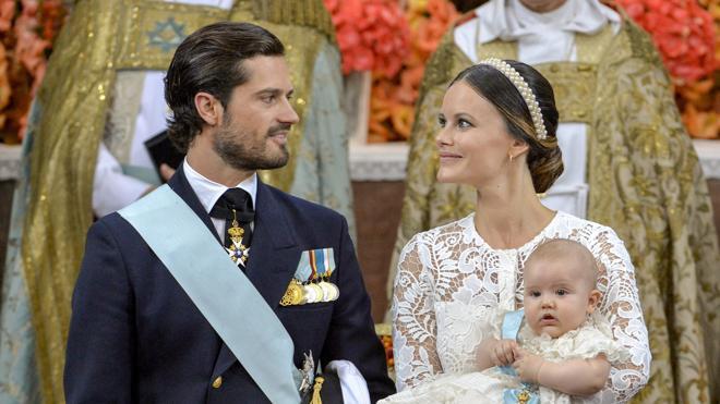 Bautizado el príncipe Alejandro, primógenito de Carlos Felipe y Sofía de Suecia