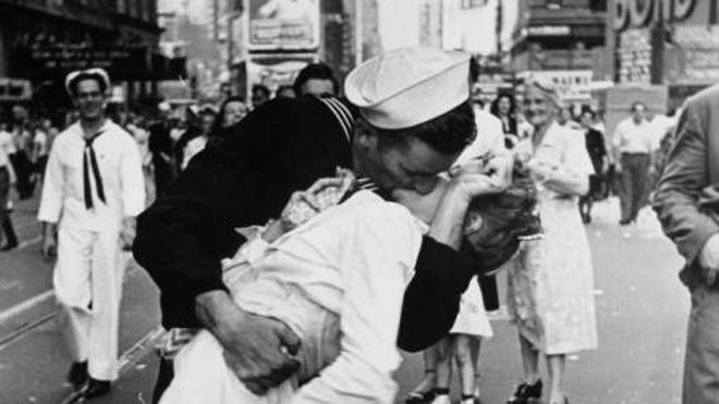 Muere la protagonista del beso en Time Square al final de la II Guerra Mundial