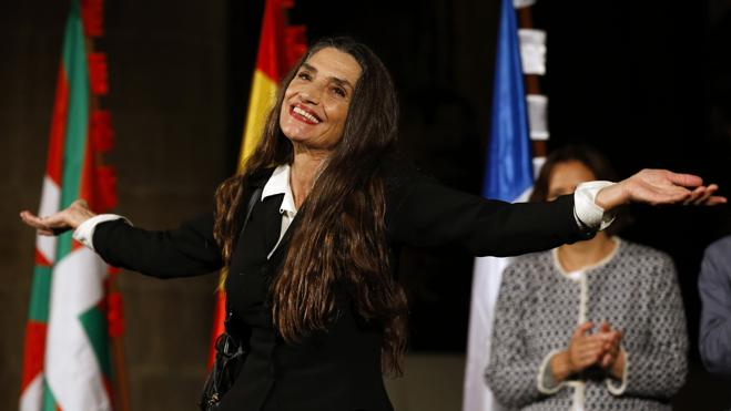 Ángela Molina recoge el Premio Nacional de Cinematografía 2016