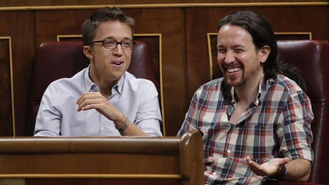 Errejón resta importancia a su rifirrafe con Iglesias: «Discutimos de política en abierto»