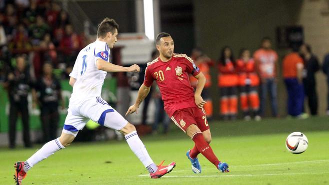 España jugará frente a Macedonia en Granada el 12 de noviembre
