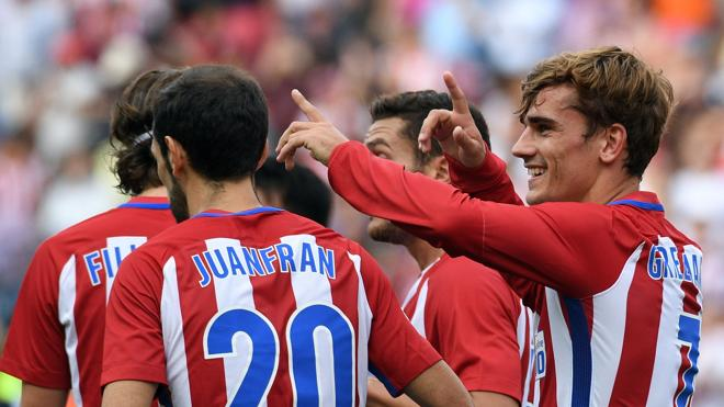 Griezmann desscerraja al Deportivo