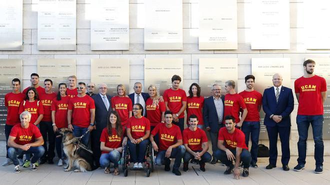 Homenaje a los medallistas de Río del proyecto COE-UCAM