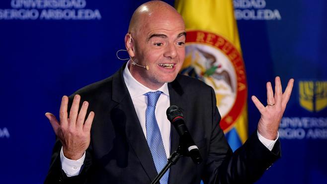 Infantino abre la posibilidad de que en el Mundial de 2026 jueguen 48 equipos
