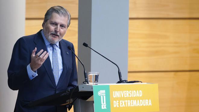 Méndez de Vigo: «La universidad española goza de una mala salud de hierro»