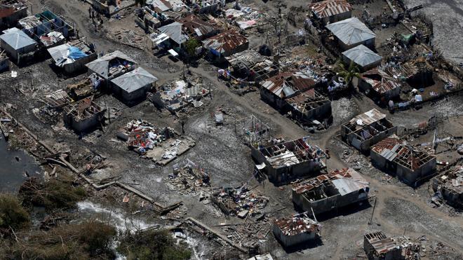 Ascienden a mil los muertos por el paso del huracán Matthew por Haití