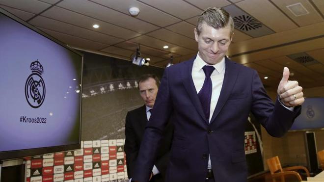 Kroos: «A veces nos falta constancia»