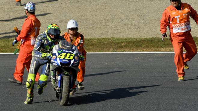 """Rossi: """"No tuve la sensación de entrar en la curva demasiado largo"""""""