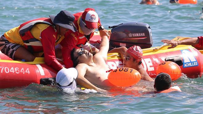 La FINA revisará las carreras en aguas abiertas tras la muerte de un nadador