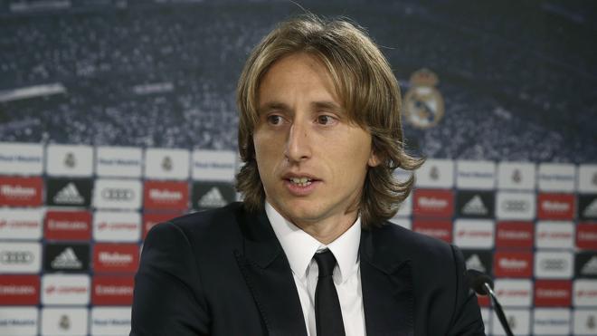 Modric: «Nuestra prioridad es ganar la Liga»