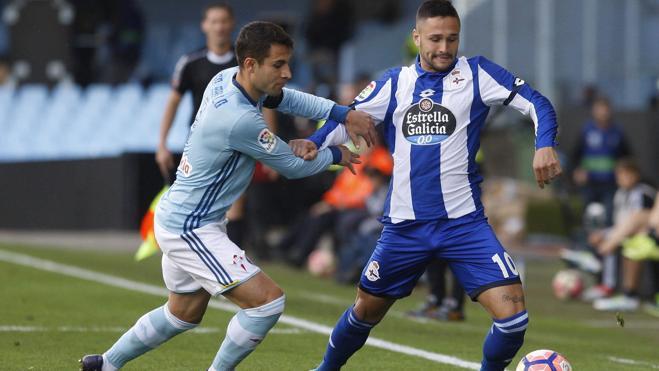 El Celta se lleva el derbi gallego ante el Deportivo
