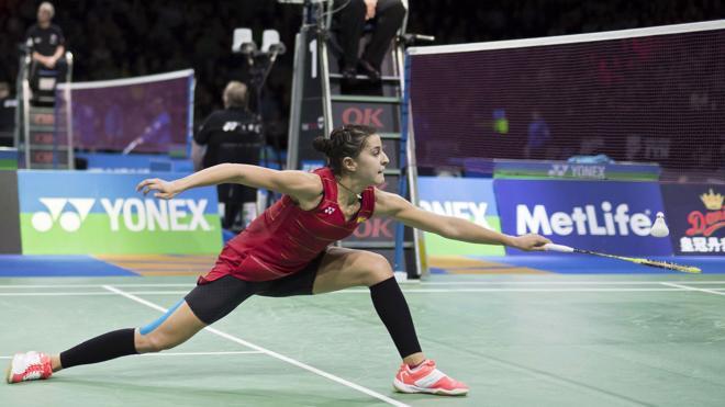 Carolina Marín, baja por lesión en el Abierto de Francia