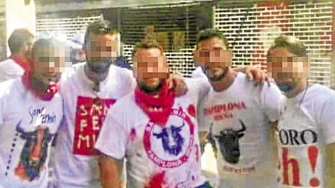 Cuatro de los acusados de violación en sanfermines declaran por otra en Córdoba