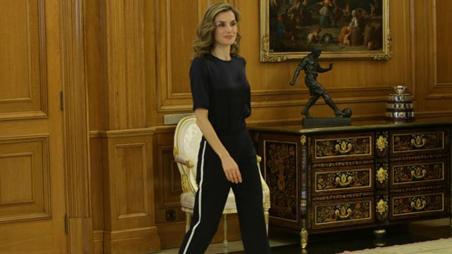 Letizia vuelve a vestirse de 'it queen'