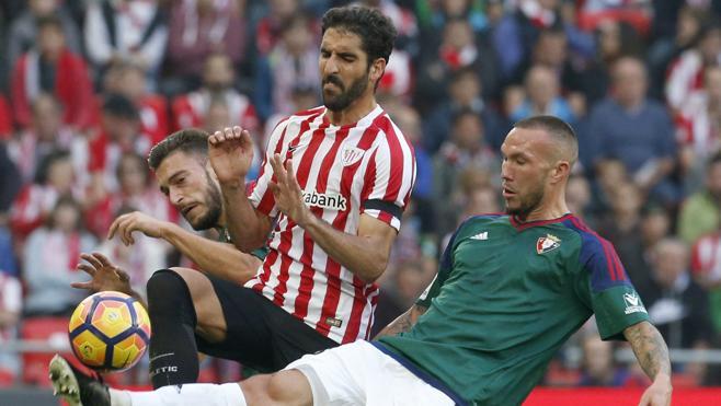 El Athletic tropieza en casa ante Osasuna