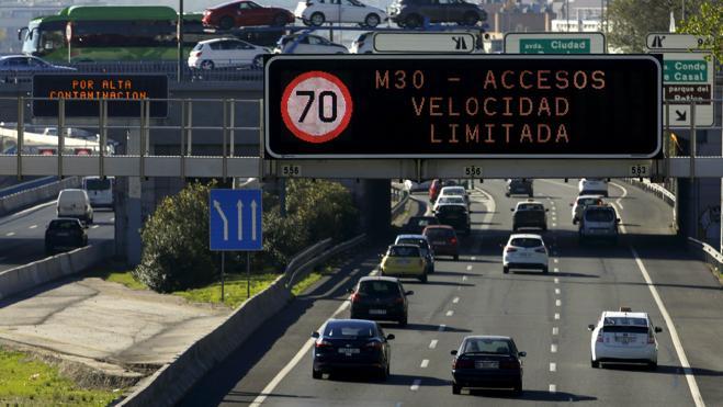 El Ayuntamiento de Madrid desactiva las restricciones al tráfico