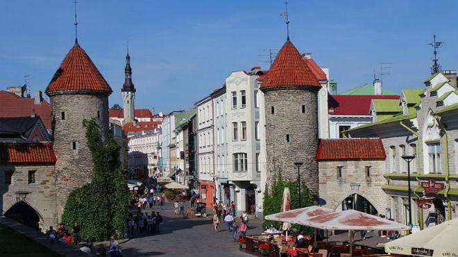 Tallin, una ciudad de cuento de hadas