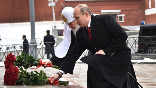 Putin inaugura el monumento al príncipe Vladímir