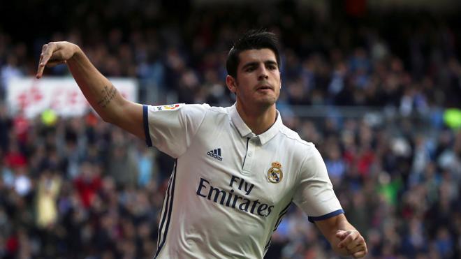 Morata: «Mi sueño es triunfar en el Madrid»