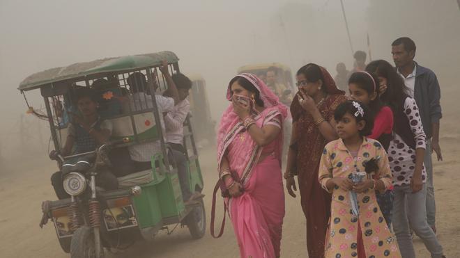 Nueva Delhi, tres días sin escuela por la contaminación del aire