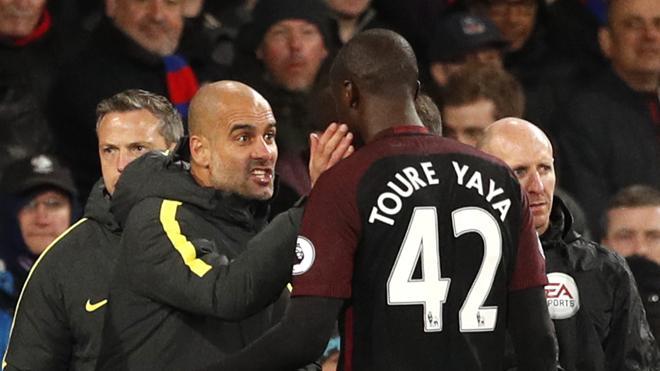 Yaya Touré justifica el perdón de Guardiola
