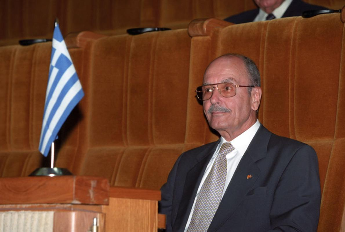 Fallece el expresidente de la república griega Kostís Stefanópulos