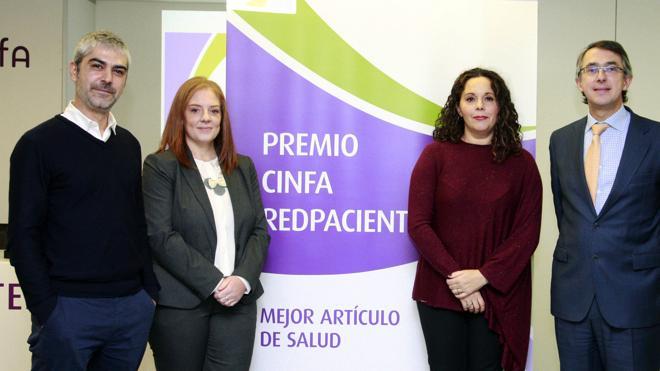 Cinfa y Redpacientes premian a Salud Revista.es