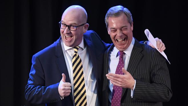 Paul Nuttall se convierte en el nuevo líder del eurófobo UKIP