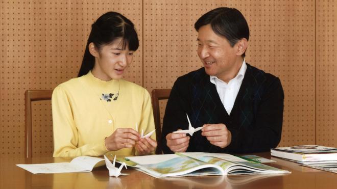 La princesa Aiko, hija única del príncipe heredero Naruhito, cumple 15 años