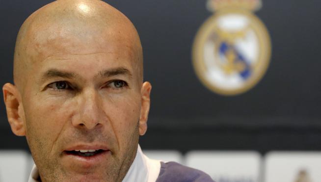 Zidane, finalista a mejor entrenador de la FIFA