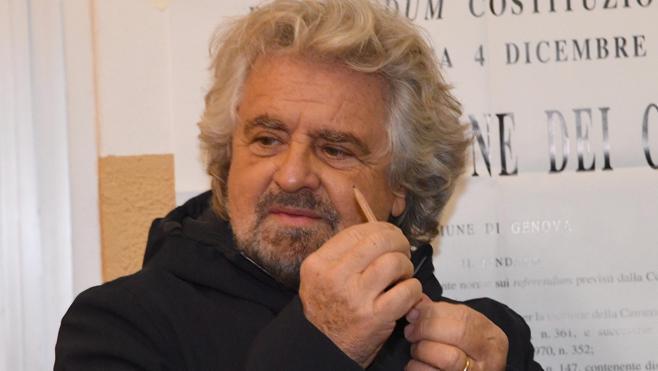 Grillo reclama: «Los italianos deben votar lo antes posible»