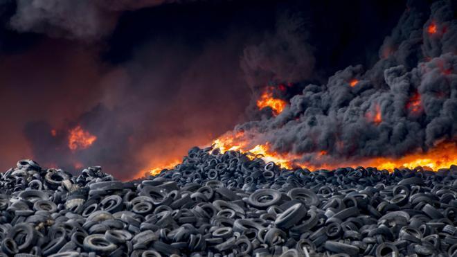 Finaliza la retirada de neumáticos del vertedero que se incendió en Seseña