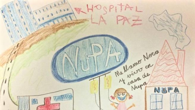 Diputados y senadores reciben un regalo navideño de una niña con una enfermedad rara