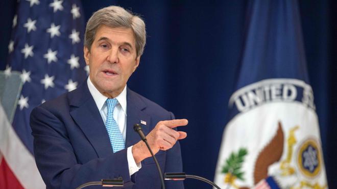 Kerry defiende la «solución de dos Estados» como única vía de paz entre Israel y Palestina