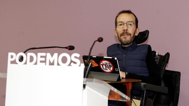 Echenique niega que los «errores» de Podemos afecten a su pluralidad