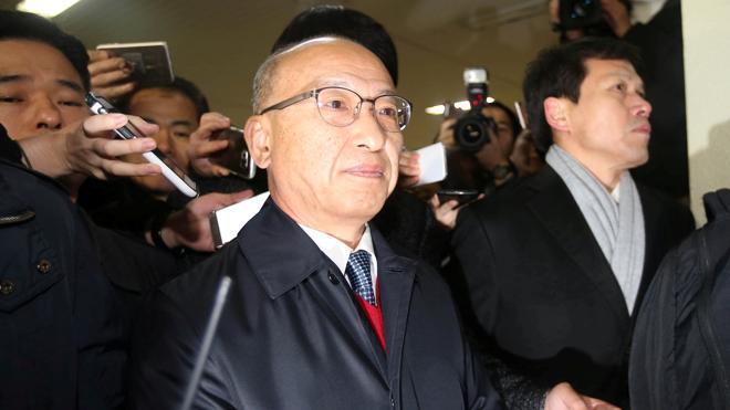 Detenido un exministro surcoreano implicado en un caso de corrupción